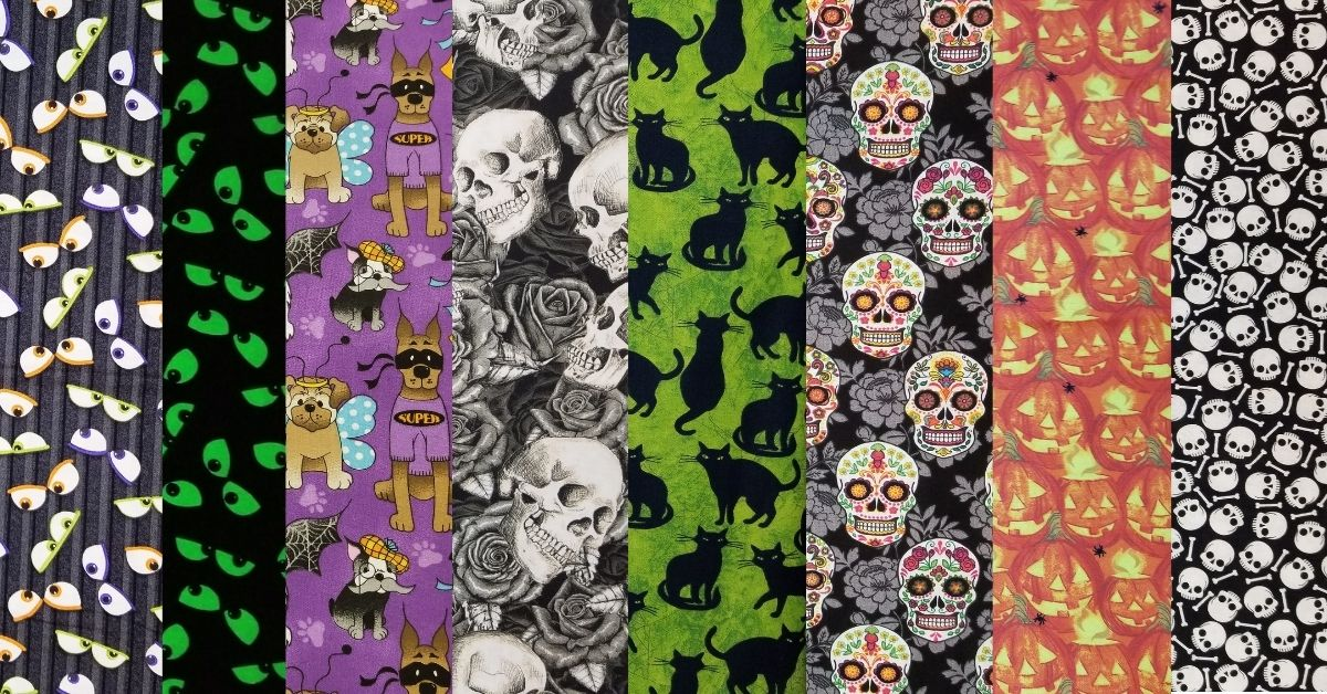 Cotton Halloween Fabric By The Yard