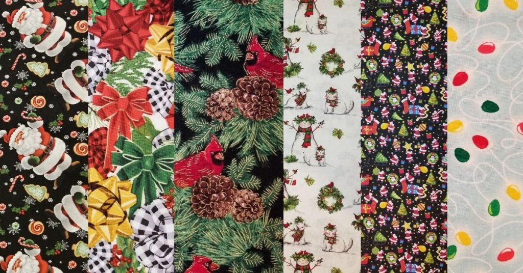 Christmas Cotton Fabric By The Yard