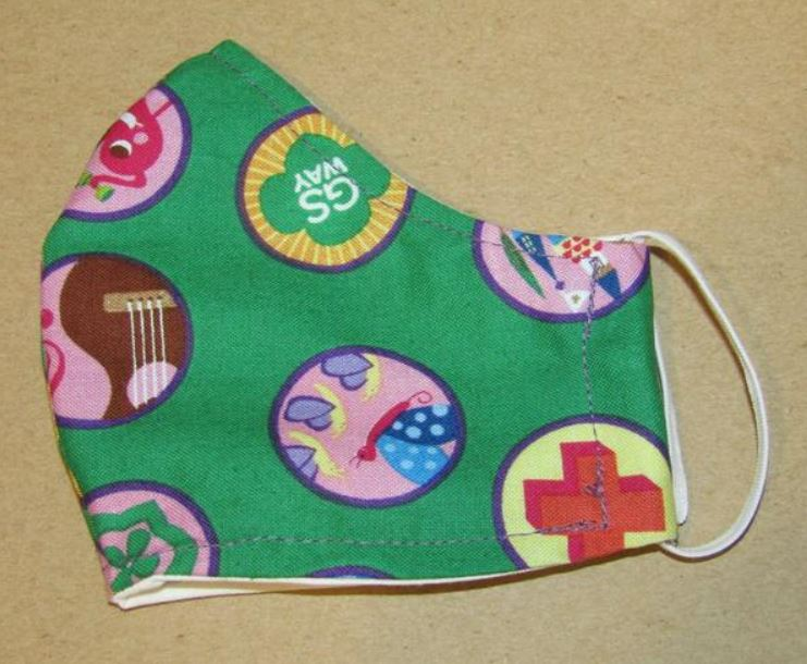 Girl Scouts Kids Mask