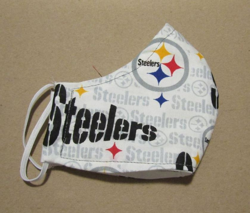 Steelers Sports Team Mask