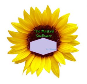 The Masked Sunflower Logo